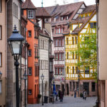 Die bunten Fachwerkhäuser der Weißgerbergasse
