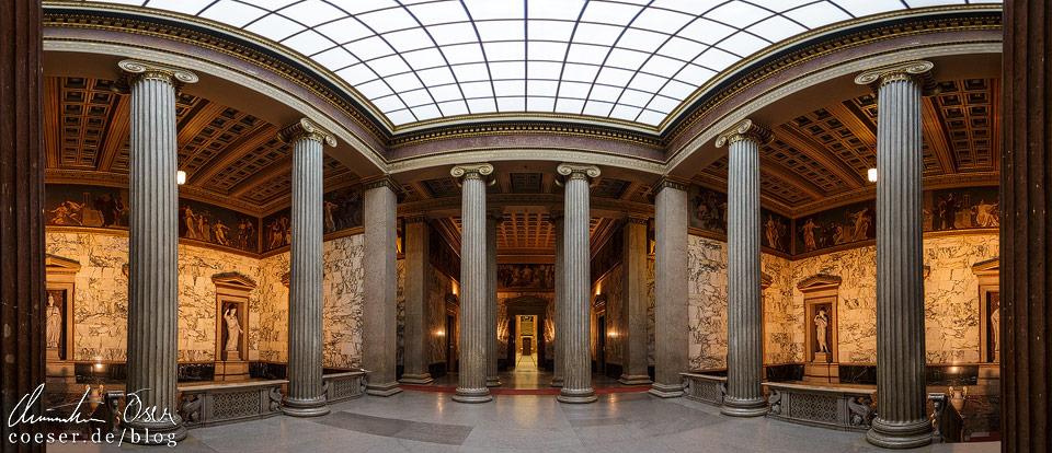 Oberes Vestibül im Wiener Parlament