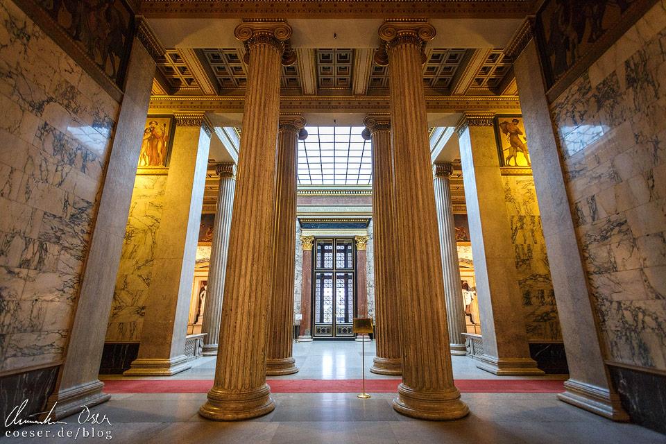 Atrium im Oberen Vestibül im Wiener Parlament