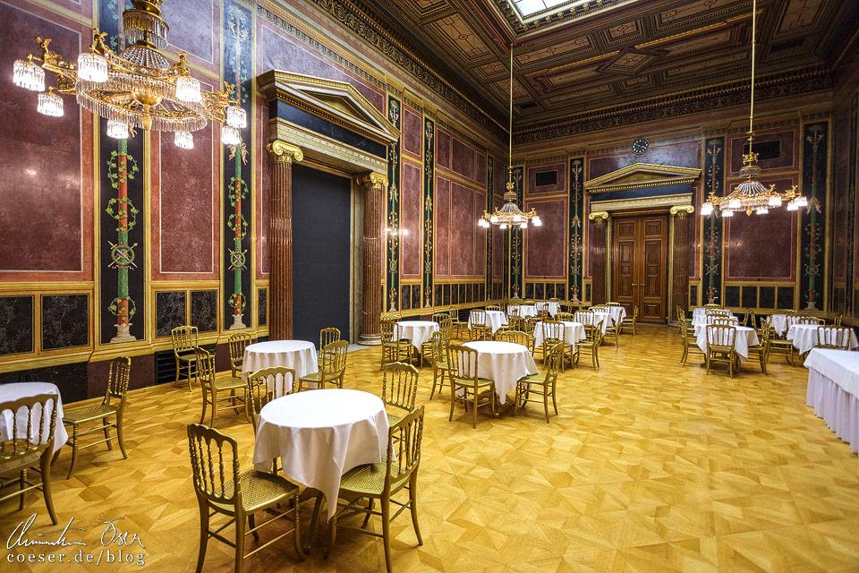 Abgeordneten-Sprechzimmer im Wiener Parlament