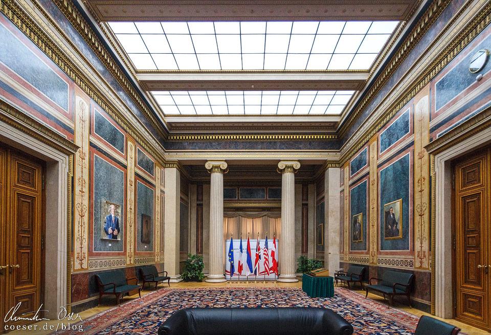 Empfangssalon im Wiener Parlament