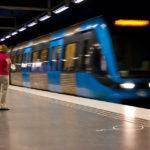 Die Stockholmer U-Bahn heißt Tunnelbana (T-Bana)
