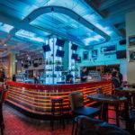 Innenansicht des Hard Rock Cafe (Sveavägen 75)
