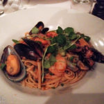 Spaghetti Frutti di Mare im Agaton Restaurang (Västerlånggatan 72)