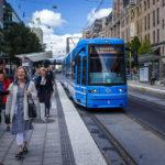 Die Stockholmer Straßenbahn