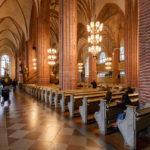 Innenansicht der Storkyrkan (Nikolaikirche) in Stockholm