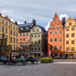 Der berühmte Platz Stortorget in der Altstadt Gamla Stan