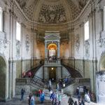 Eingangsbereich im Königlichen Schloss von Stockholm