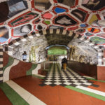 Die kunstvolle Tunnelbana-Station Kungsträdgården