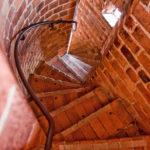 Enge Treppen innerhalb des Turms im Stockholmer Rathaus