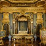 Prunkvolle Räume im Schloss Drottningholm