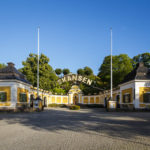 Hazeliusporten, der Nebeneingang des Freilichtmuseums Skansen