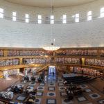Innenansicht der Stadtbibliothek (Stockholms Stadsbibliotek)
