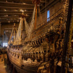 Innenansicht des Vasa-Museums