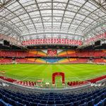 Panorama der Amsterdam ArenA, Heimat des Fußballvereins Ajax Amsterdam