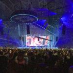 Panorama der Amsterdam ArenA während des Konzerts von DJ Armin van Buuren