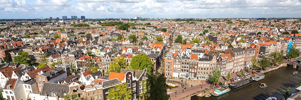 Aussichtspunkt in Amsterdam