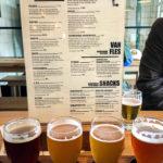 Die detaillierte Getränkekarte hilft, in der Brauerei Brouwerij 't IJ (Funenkade 7) nicht den Überblick zu verlieren