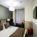 Doppelzimmer im Hotel Clemens Amsterdam