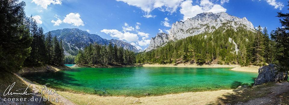 Panorama Grüner See Tragöß