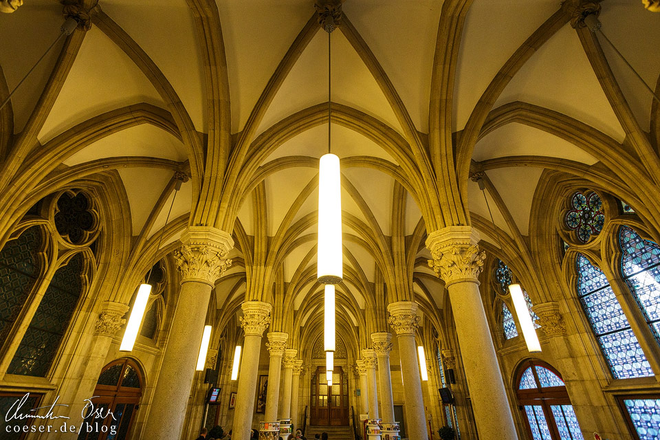 Schmidthalle im Wiener Rathaus