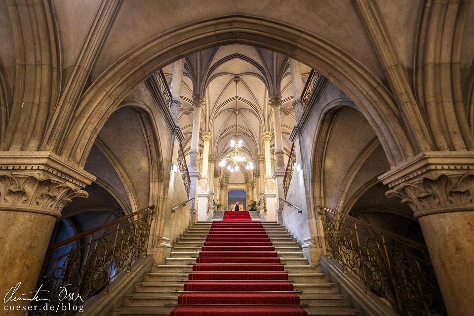 Feststiege im Wiener Rathaus