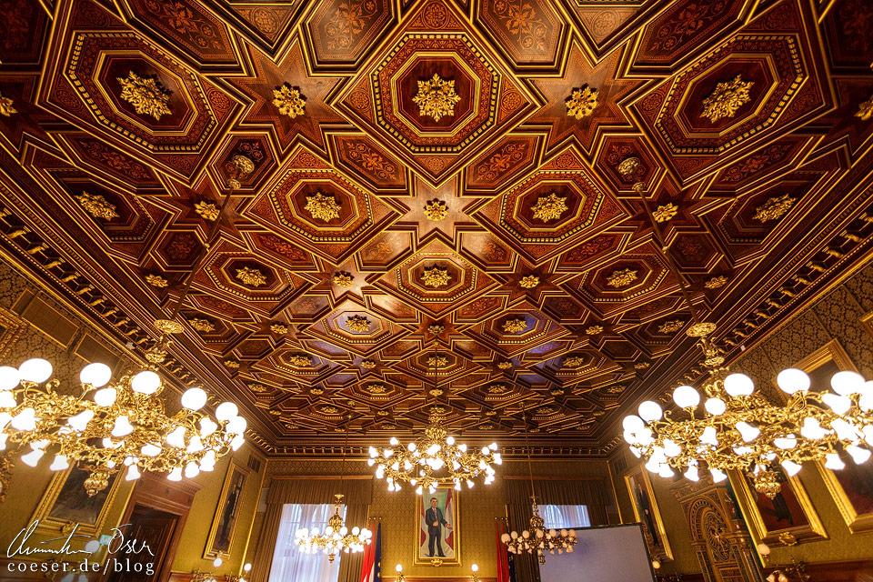 Stadtsenatssitzungssaal im Wiener Rathaus