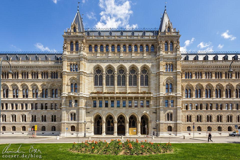 Rückseite des Wiener Rathauses