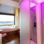 Doppelzimmer im citizenM Hotel Schiphol Airport