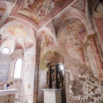 Die gotische Kapelle aus dem 16. Jahrhundert im oberen Hof der Bleder Burg