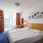 Doppelzimmer im Hotel Jelovica (in Zukunft Hotel Rikli) in Bled