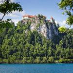 Blick auf die Bleder Burg