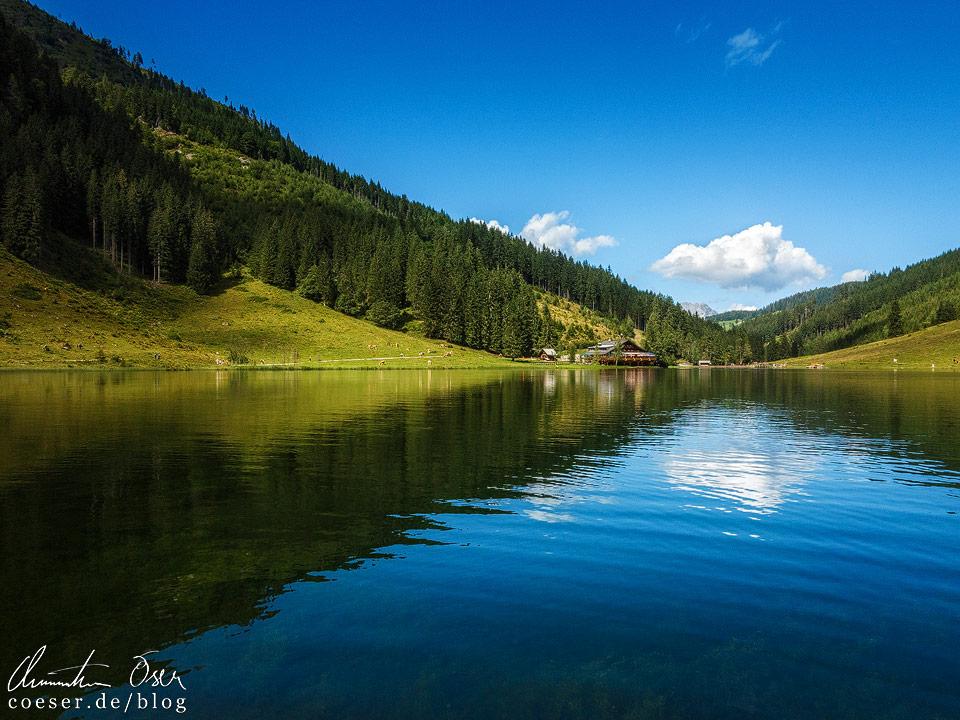 Spiegelung des Steirischen Bodensees