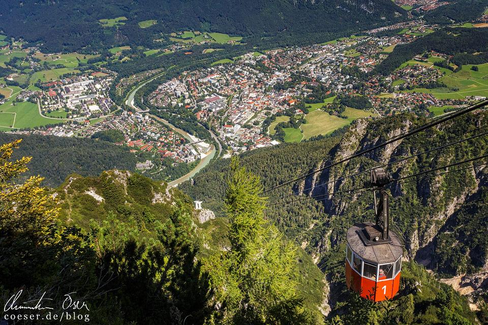 Predigtstuhlbahn in Bad Reichenhall