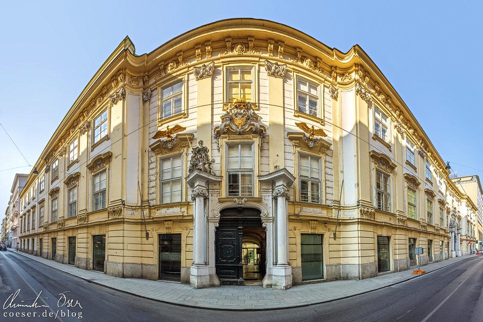 Außenansicht des Alten Rathaus in Wien