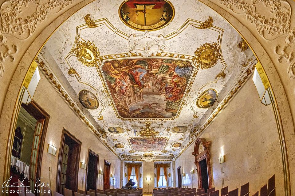 Barocksaal im Alten Rathaus in Wien