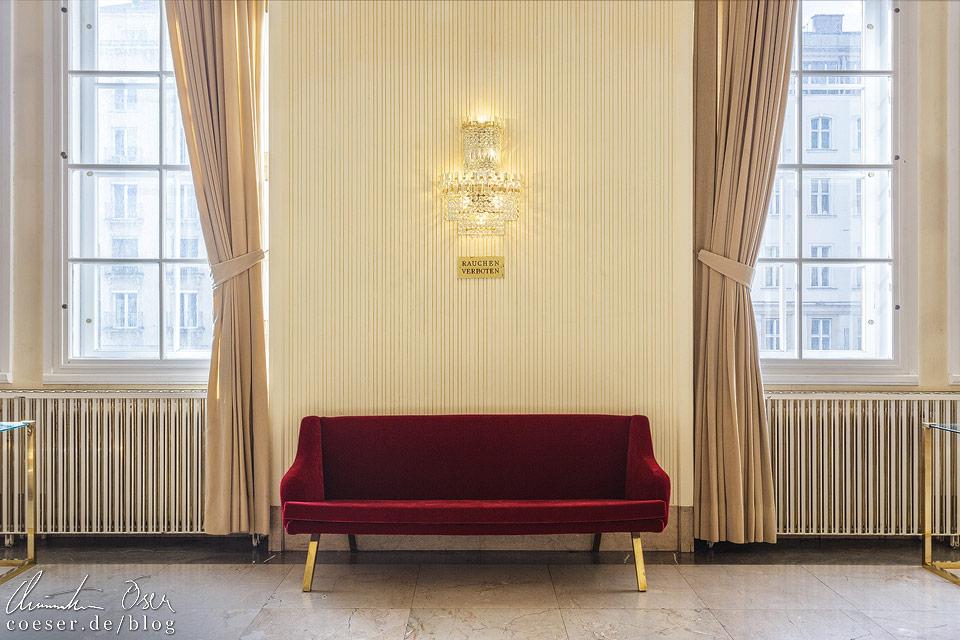 Marmorsaal in der Wiener Staatsoper