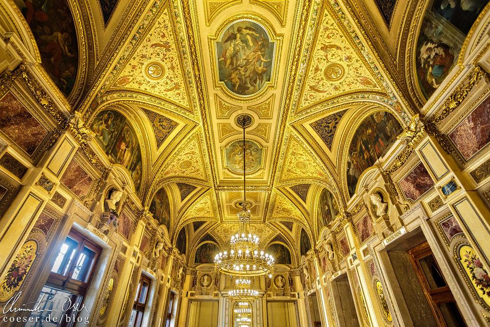 Schwindfoyer in der Wiener Staatsoper