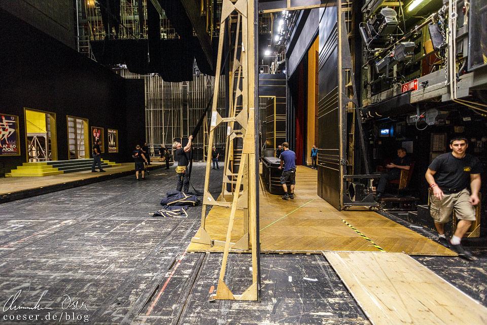 Backstage in der Wiener Staatsoper