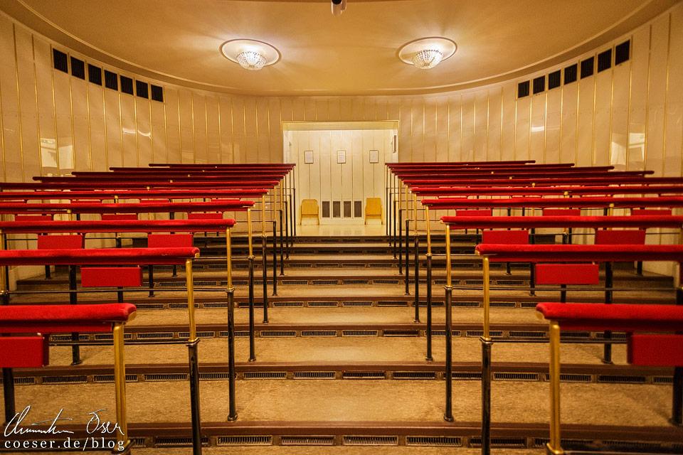 Stehplätze im Zuschauersaal in der Wiener Staatsoper