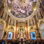 Innenansicht der Basílica de la Mare de Déu dels Desemparats