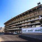 Das Estadio Mestalla wirkt von außen unauffällig