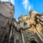 Außenansicht der Kathedrale von Valencia