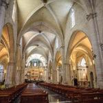 Innenansicht der Kathedrale von Valencia