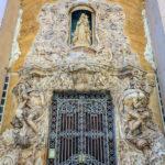 Außenfassade des Palacio del Marques de Dos Aguas