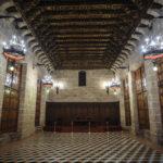 Der Sala Consulado del Mar in der Seidenbörse (Lonja de la Seda)