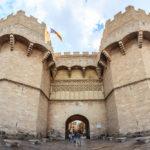 Die Torres de Serranos, Teil der historischen Stadtmauer