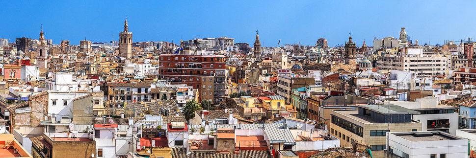 Die Altstadt von Valencia