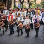 Festlicher Umzug im März in Valencia