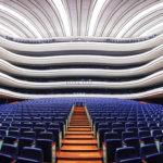 Der Sala Principal im Opernhaus Palau de les Arts Reina Sofía in der Stadt der Künste und Wissenschaften
